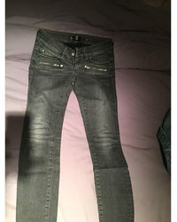 Barbara Bui Jeans slim denim, jean noir
