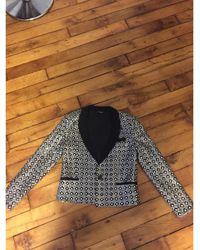 The Kooples Blazer, veste tailleur sequins argent - Métallisé