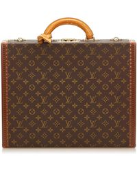 Louis Vuitton Mallette monogram canvas autre - Marron