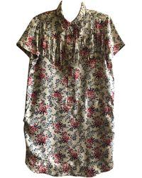 Zadig & Voltaire Robe courte soie multicolore
