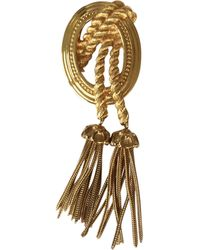 Dior Broche métal doré autre - Multicolore