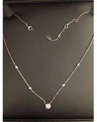 collier argent messika