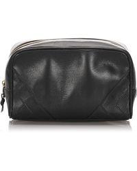 Chanel Trousse lambskin leather autre - Noir