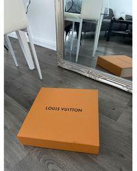 Louis Vuitton - Sac à main en cuir cuir Neverfull marron - Lyst