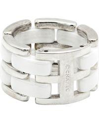 Chanel Bracelet or blanc blanc