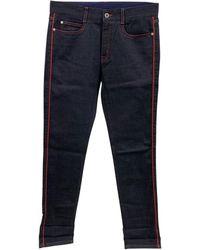 Stella McCartney Jeans large, boyfriend coton biologique bleu