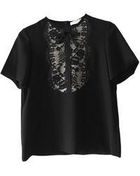Sandro Blouse polyester noir