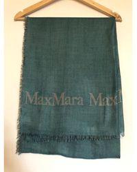 Max Mara - Etole soie vert - Lyst