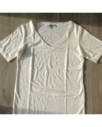 Dior Top, tee-shirt acrylique blanc