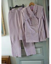 Versace Tailleur pantalon coton biologique autre - Multicolore