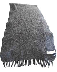 Givenchy - Foulard cachemire gris - Lyst