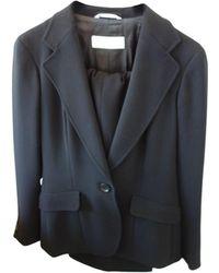 Max Mara Tailleur pantalon triacetate noir