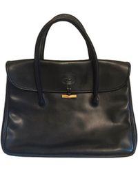 Longchamp Sac à main en cuir cuir noir