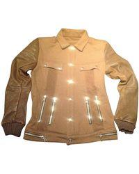 Balmain - Veste coton marron - Lyst