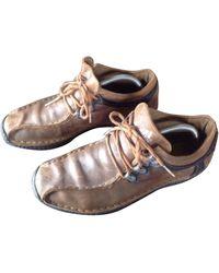adidas - Chaussures à lacets cuir autre - Lyst