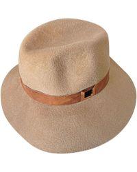 Lola Hats À Chapeau En Commando Paille Cuir Ornement De Coloris cTFKJl13