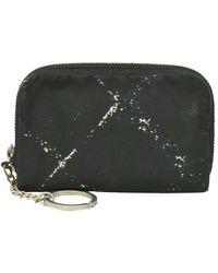 Chanel Portefeuille synthétique noir