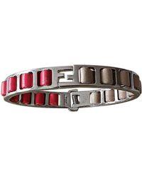 Fendi - Bracelet acier rose - Lyst