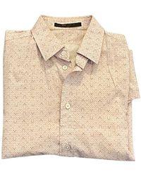 Louis Vuitton Chemise coton rose