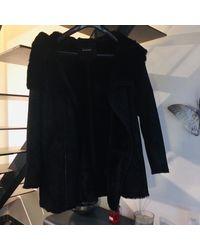 The Kooples Manteau polyester noir