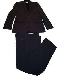 Sandro Costume complet laine noir