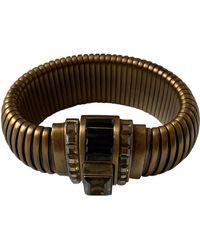 Lanvin Bracelet laiton doré - Métallisé