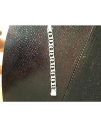 Louis Vuitton Bracelet plaqué argent argent - Métallisé