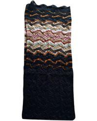 Missoni Châle laine mélangée noir