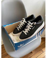 adidas Baskets cuir noir