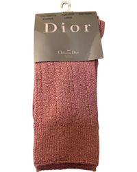 Dior Mi-chausettes acrylique rose