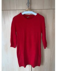 IRO Sweat angora rouge
