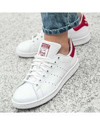 adidas Baskets cuir Stan Smith blanc