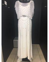 Jenny Packham Robe de mariée a paillettes blanc