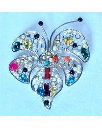 Christian Lacroix Pendentif, collier pendentif métal argent - Métallisé