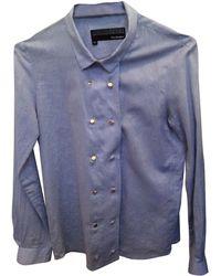 The Kooples Chemisier coton bleu