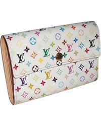 Louis Vuitton Portefeuille toile multicolore