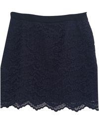 Claudie Pierlot - Jupe courte coton autre - Lyst