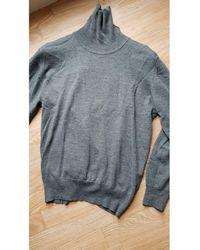 Balmain Pull laine gris