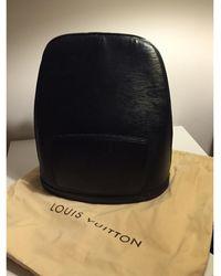 Louis Vuitton - Sac en bandoulière en cuir cuir noir - Lyst