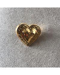 Christian Lacroix Pin's métal doré - Métallisé