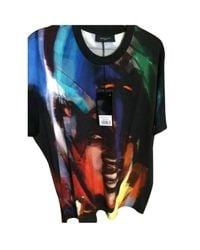 Givenchy - Tee-shirt coton noir - Lyst