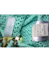 Emilio Pucci Gilet, cardigan coton vert