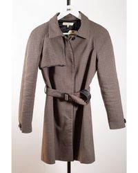 Sandro Imperméable, trench polyester marron