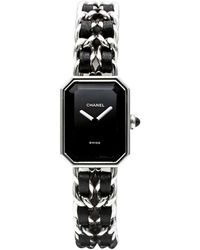 Chanel Montre au poignet acier Première argent - Métallisé