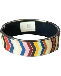 Christian Lacroix - Bracelet acier argent - Lyst