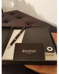 Balmain Foulard stylo et carnet autre - Multicolore