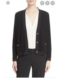 The Kooples Gilet, cardigan laine noir