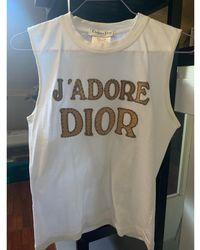 Dior Top, tee-shirt coton blanc