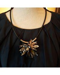 Marni Pendentif, collier pendentif corne blanc