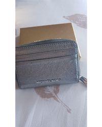 Michael Kors Porte-monnaie cuir gris